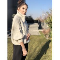Ekru Boğazlı Kazak