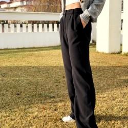 Beli Lastikli Kumaş Pantolon