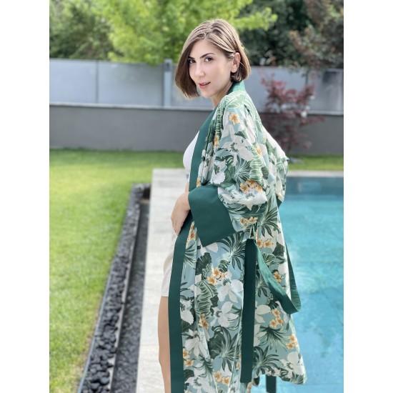 Green Flow Kimono